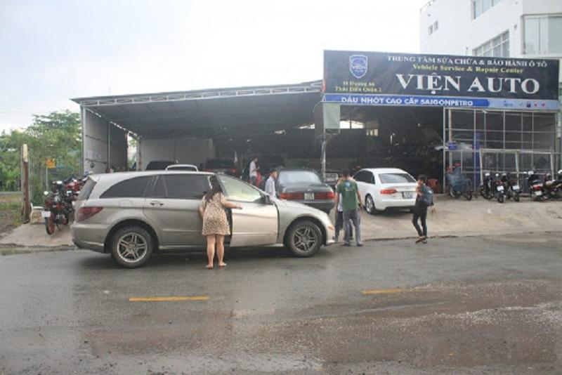 Garage chuyên bảo dưỡng Porsche HCM